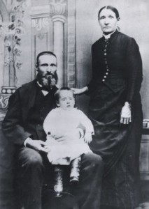 Howard Ransom, wife & son Horace